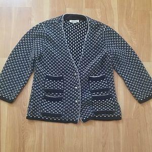 WHBM knit cardigan / jacket